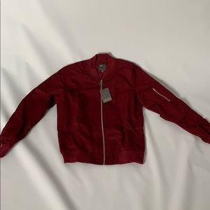 NWT men's ASOS maroon jacket sz medium